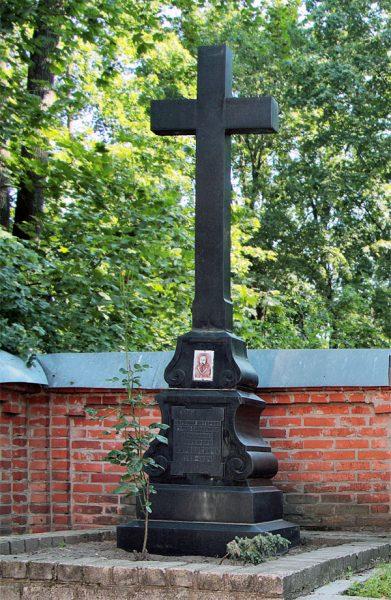 Могила Н. А. Мурзакевича наОкопном кладбище Смоленска